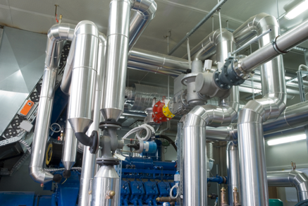 Plant Rooms and Energy Centre Pipework